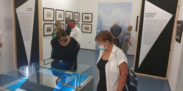 """Opening of the exhibition """"Anton Perko. The Slovene Painter in the Services of the Imperial Court """""""