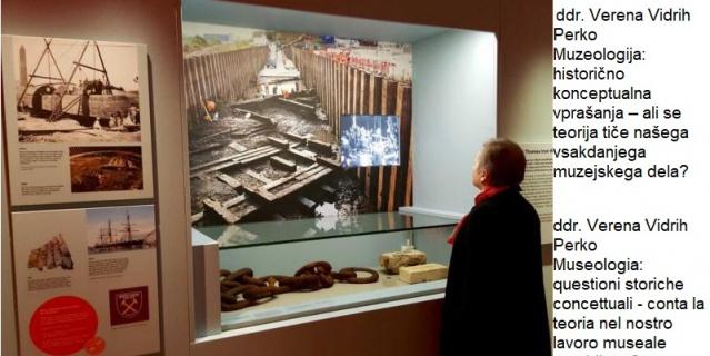 Predavanje ddr. Verene Vidrih Perko »Muzeologija: historično konceptualna vprašanja«
