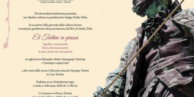 """Predstavitev knjige """"El Tartini in piassa"""""""