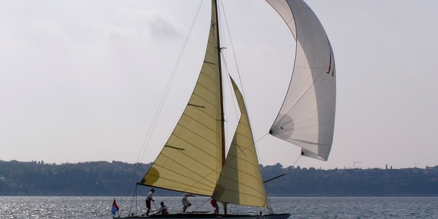 The sailboat Galeb in renovation